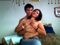 Usual sex act recorded on a home video cam